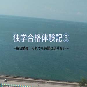 駆け出しSEの行政書士試験独学合格体験記③